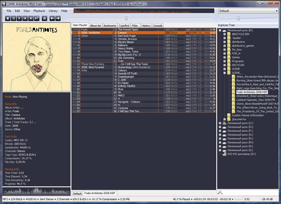 Screenshot Foobar2000