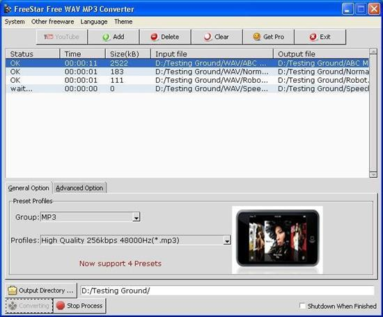Free WAV MP3 Converter Free Download For Windows 10, 8 1, 8